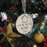 Our New Home Christmas Bauble