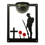 Remembrance Solar Plaque