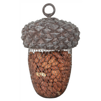 Rustic Acorn Bird Feeder