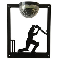 Cricketer Solar Light Wall Plaque - Flory's Online