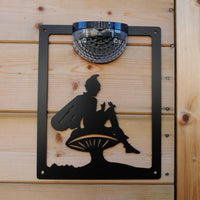 Fairy Solar Light Wall Plaque - Flory's Online