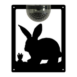 Rabbit Solar Light Wall Plaque