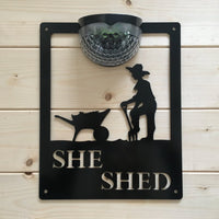 She Shed Solar Powered Light - Flory's Online