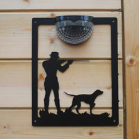 Shooter Solar Light Wall Plaque - Flory's Online