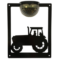 Tractor Solar Light Wall Plaque - Flory's Online