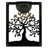 Tree of Life Solar Light Wall Plaque - Flory's Online
