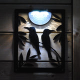 Two Birds Solar Light Wall Plaque - Flory's Online