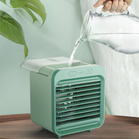 Summer Mini Air-Cooled Air Conditioner, Cooling Spray Ενυδατικό USB Mini Fan για γραφείο