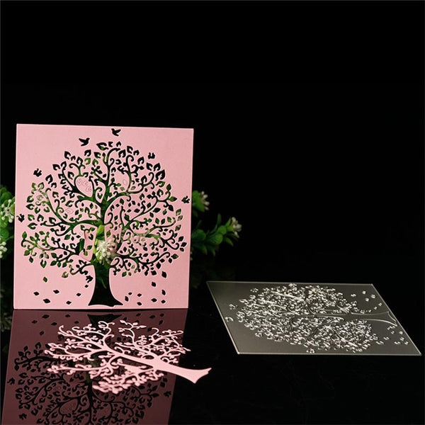 Tree Metal Cutting Dies Stencil for DIY Scrap booking Album Paper Embossing Folder