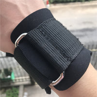 Unisex Health Care Palm Gloves Bench Press Fitness Slip Bracers Pull-up Wristband Training Equipment