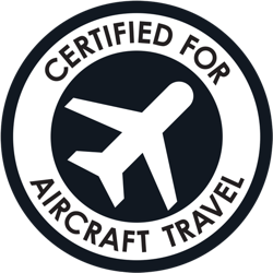 Certified for Aircraft Travel