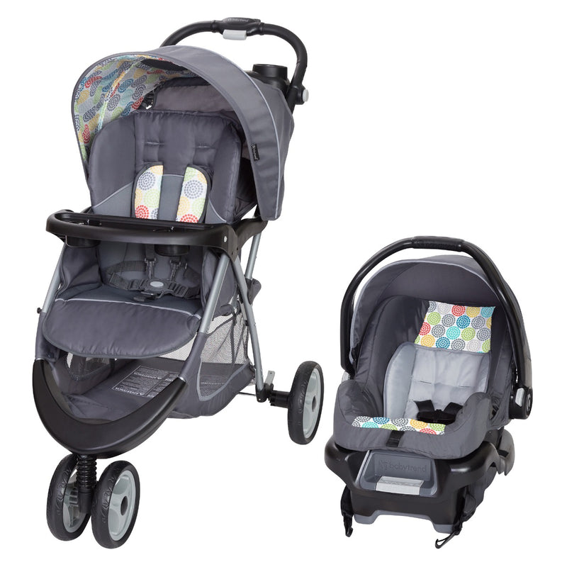 EZ Ride 35 Travel System - Funfetti (Walmart Exclusive)
