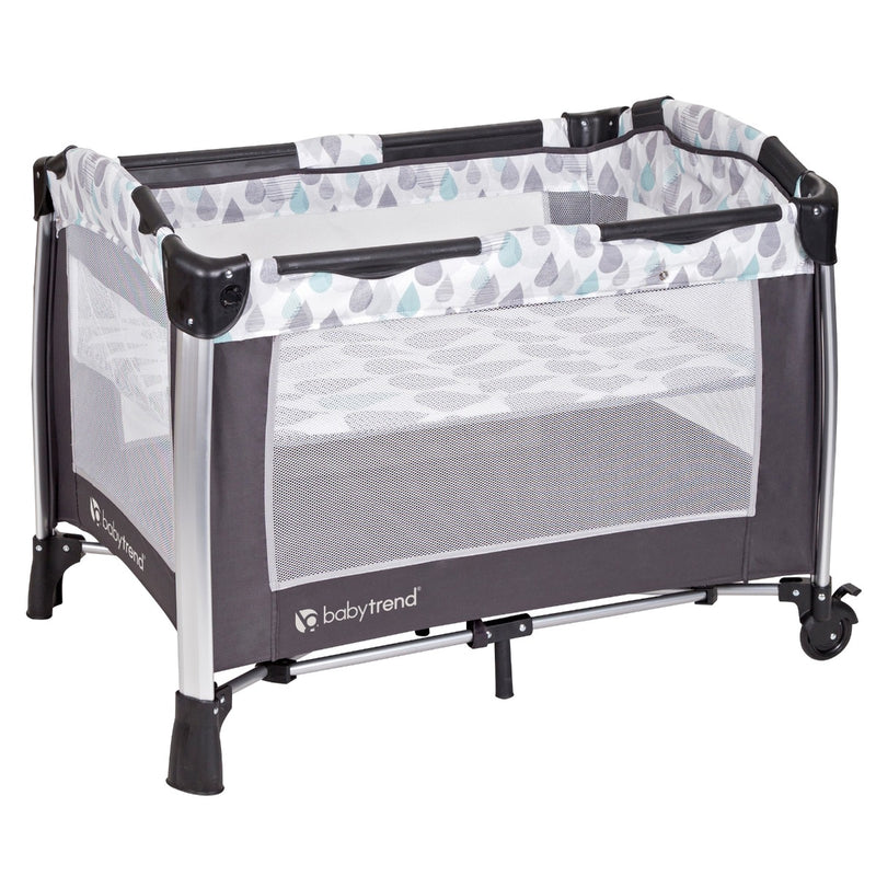 GoLite® Twins Nursery Center - Drip Drop Blue
