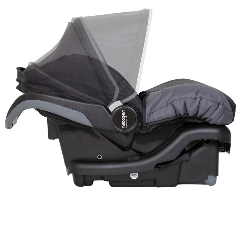 NexGen Ally 35 Infant Car Seat with Comfy Cover - Castle Black (Amazon Exclusive)
