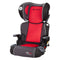 PROtect Car Seat Series Yumi 2-in-1 Folding Booster Seat - Mars Red (Walmart Exclusive)