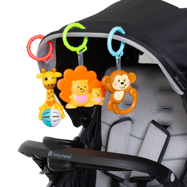 Jingle Jungle 3-Pack Rattle Hooks by Smart Steps™
