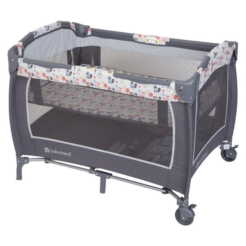 Lil' Snooze™ Deluxe II Nursery Center - Forest Party Grey  (Walmart Exclusive)