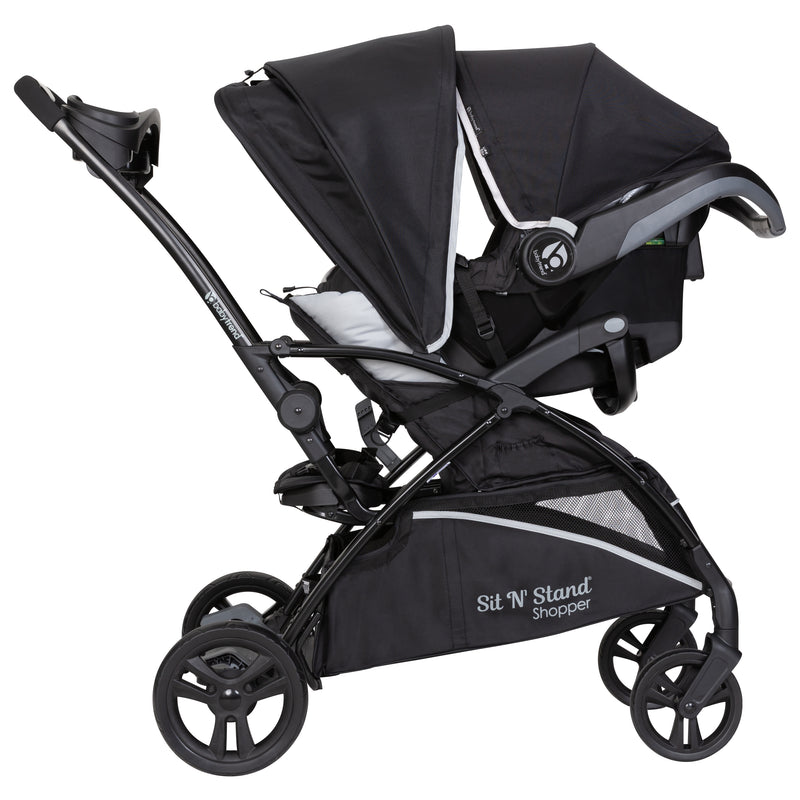 Sit N Stand® 5-in-1 Shopper Stroller - Moondust
