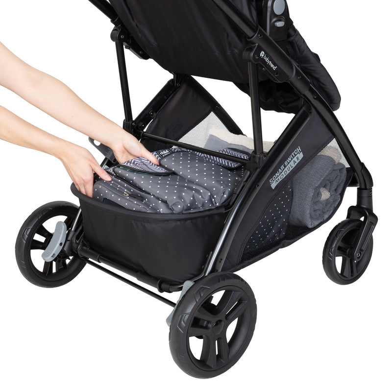Sonar™ Switch 6-in-1 Modular Travel System - Desert Grey  (Walmart Exclusive)