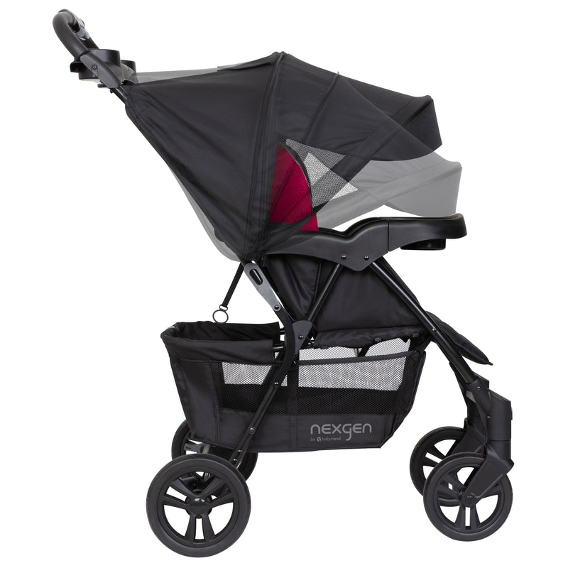 Nexgen Ride N Roll Travel System Electric Pink Amazon