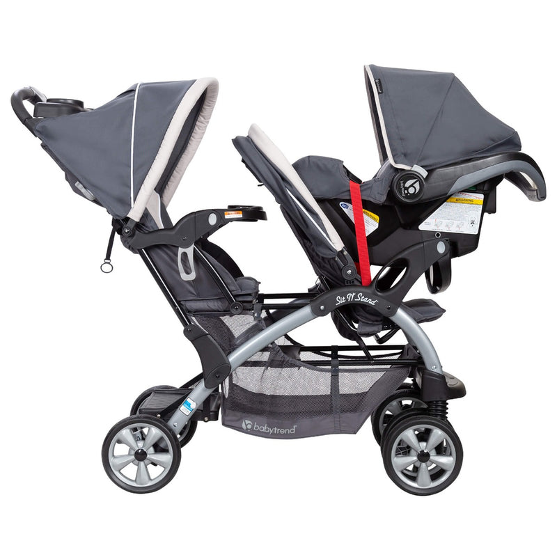 Sit N' Stand® Double Stroller - Magnolia   (VM Innovations Exclusive)