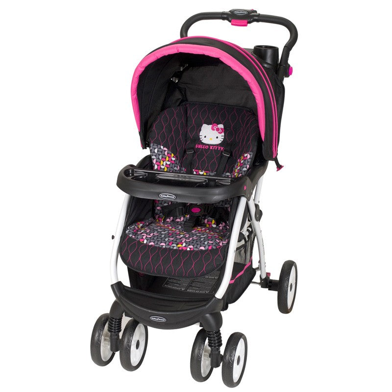 Baby Trend Encore Stroller Hello Kitty Pin Wheel St25944