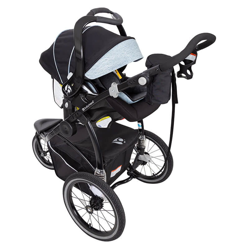 Baby Trend Go Gear 180 186 6 In 1 Jogger Travel System Blue