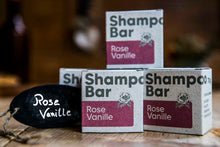 Shampoo Bar Rose-Vanille