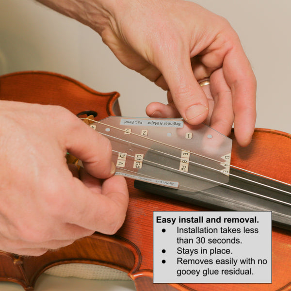 Easy to install D Major Fantastic Finger Guide