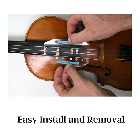 Fantastic Finger Guide Violin Easy to Install