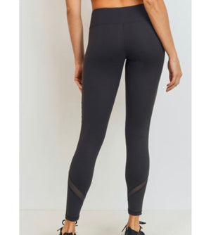 Moto Mesh Full Leggings