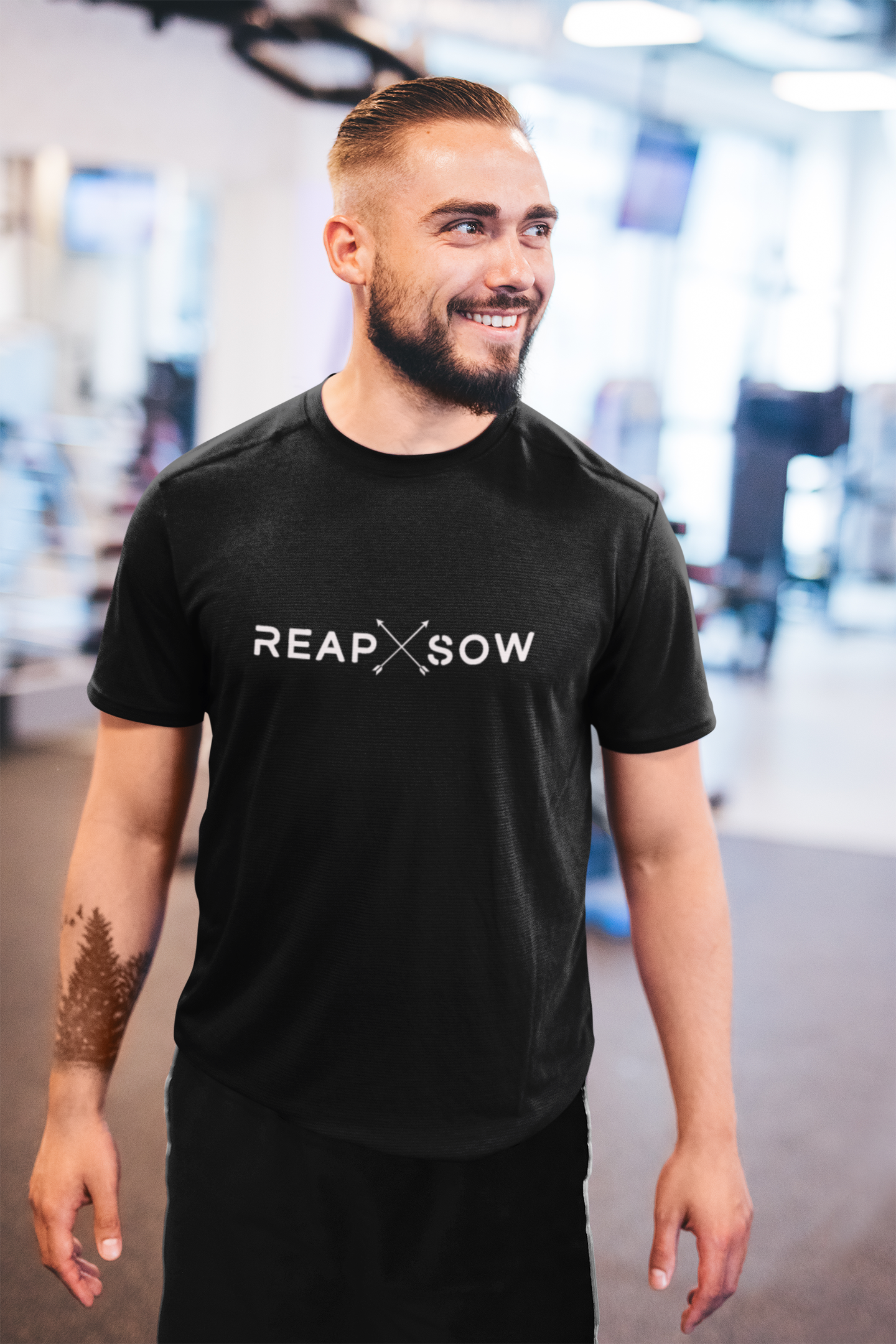 Black Reap and Sow Tee (M)