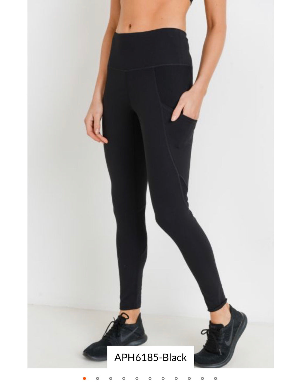Ribbed and Smooth high waist legging *Clearance*