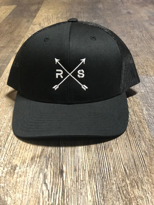 Black on Black Mesh Snap Back