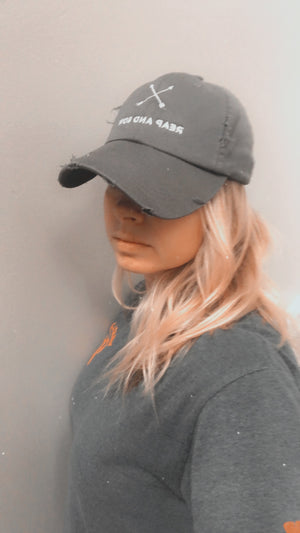 Reap and Sow Distressed hat !