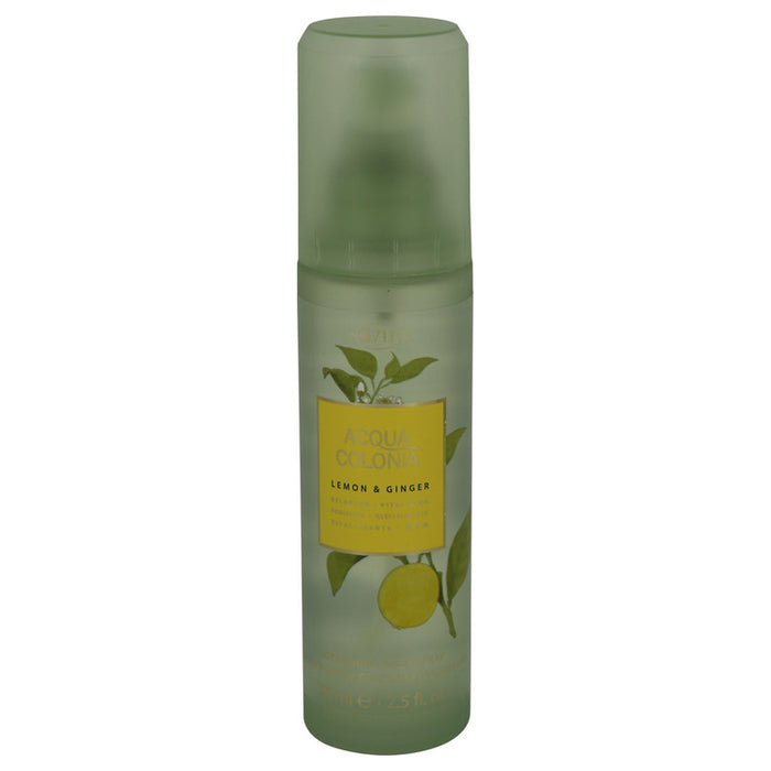 4711 Acqua Colonia Lemon & Ginger Body Spray By Maurer & Wirtz