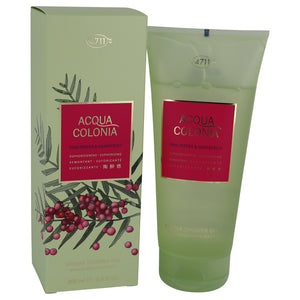 4711 Acqua Colonia Pink Pepper & Grapefruit Shower Gel By Maurer & Wirtz