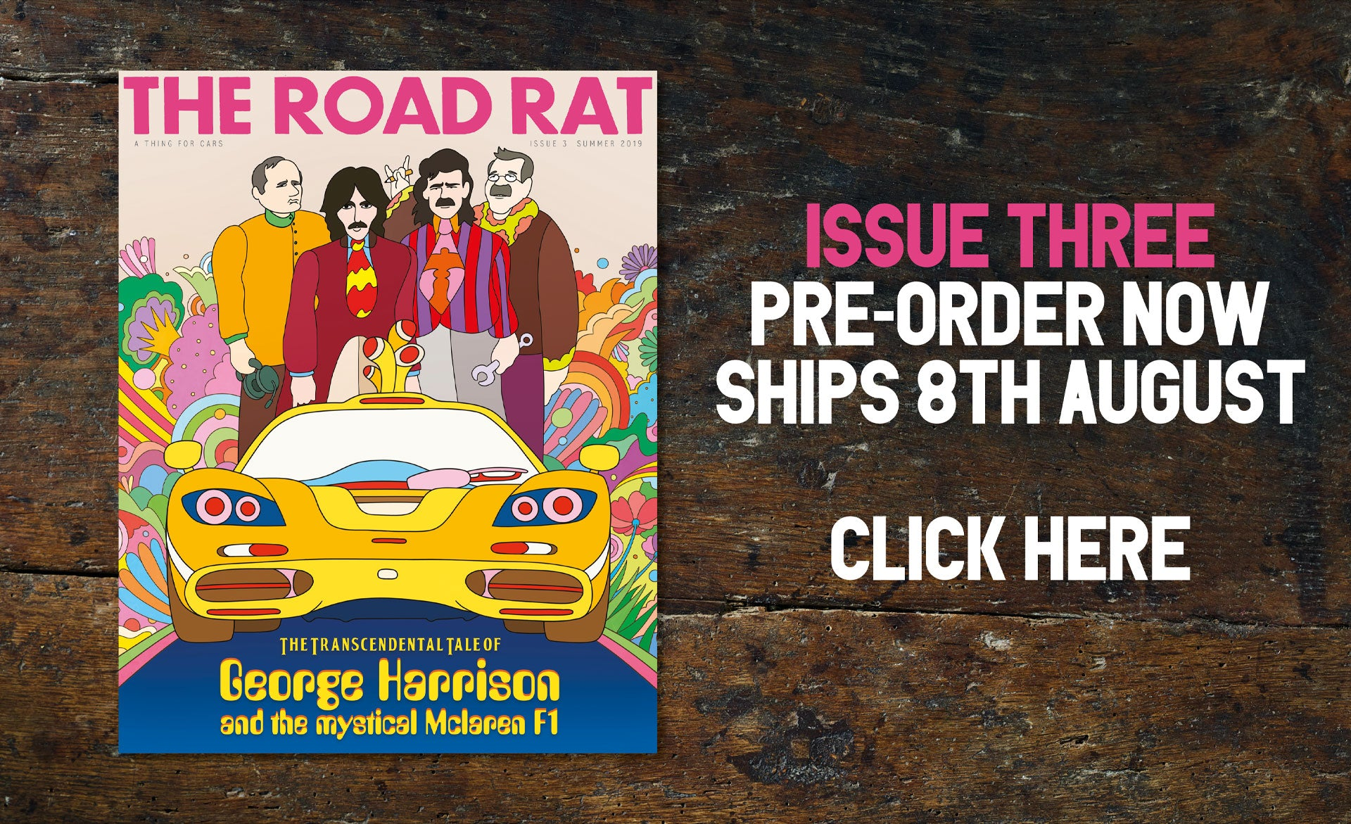 The Road Rat Magazine A Thing For Cars