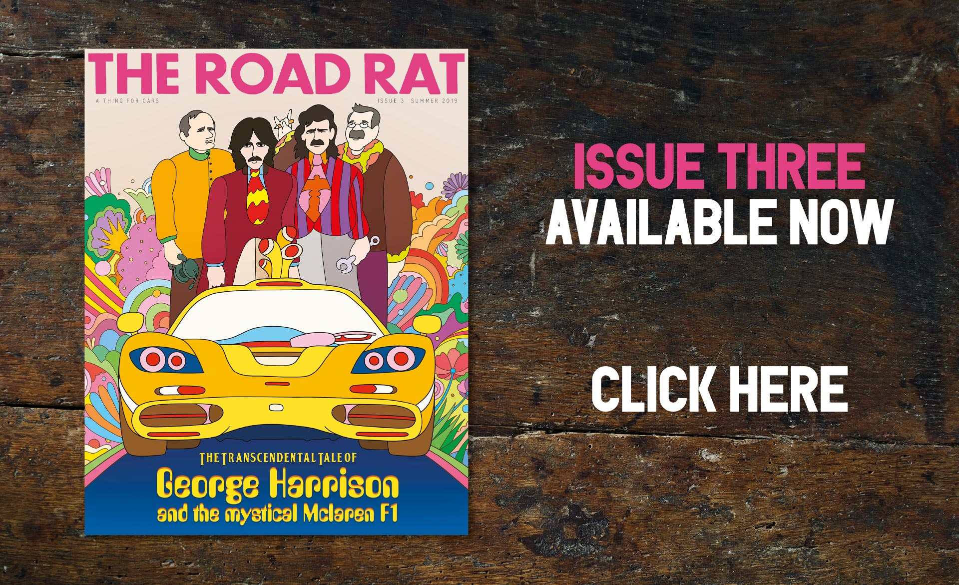 The Road Rat Magazine | A Thing For Cars