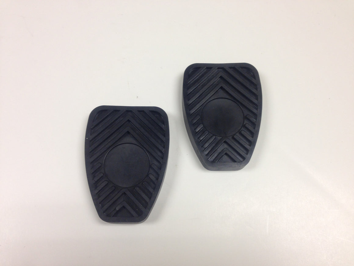 (New) 356/911/914/930 Brake and Clutch Pedal Pad Set - 1950-98
