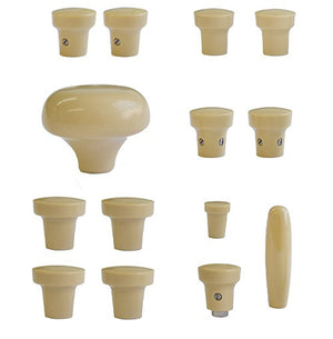 (New) 356 A Beige Dash Knob Set - 1955-59