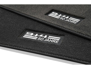 "(New) 914 Set of ""50 Years of 914"" Floor Mats - 1970-76"