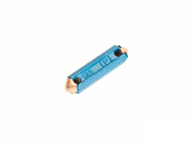 (New) 356/911/912/914/930 Blue 25 Amp Fuse - 1950-89