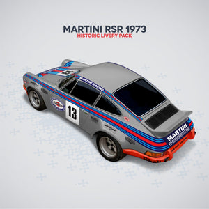 (New) 911 Famous Historic Livery Sets - Martini / Brumos / RSR