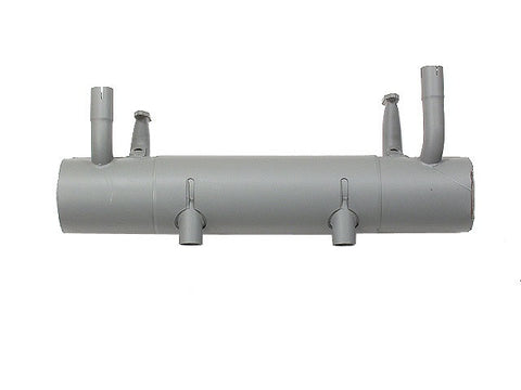 (New) 356 A Muffler with Dual Pipe Exhaust - 1955-59