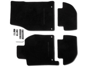 (New) 944/968 Set of Four LHD Black Floor Mats - 1982-95