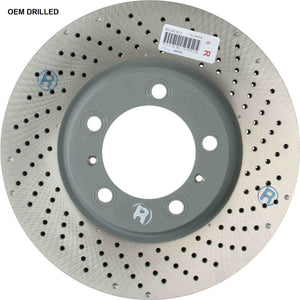 (New) 911 Front Right Brake Disc Rotor - 2002-2012