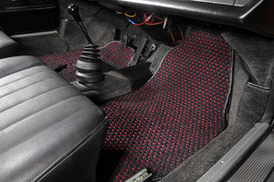 (New) #51 Black and Red CoCo Mats - Two Piece or Four Piece