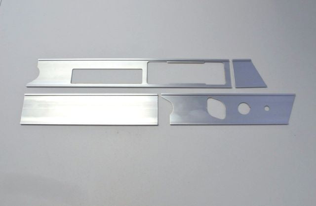(New) 911/912 RHD Aluminum Dash Trim Frame Set - 1969-73
