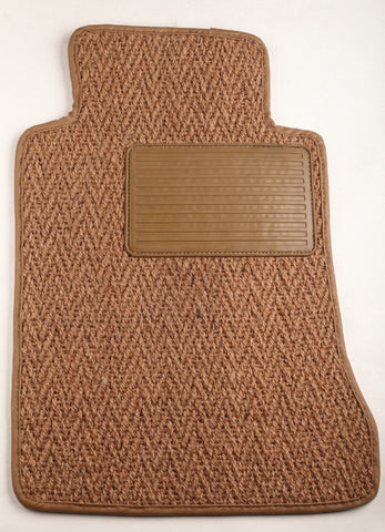 (New) #21 Natural Herringbone CoCo Mats - Two Piece or Four Piece